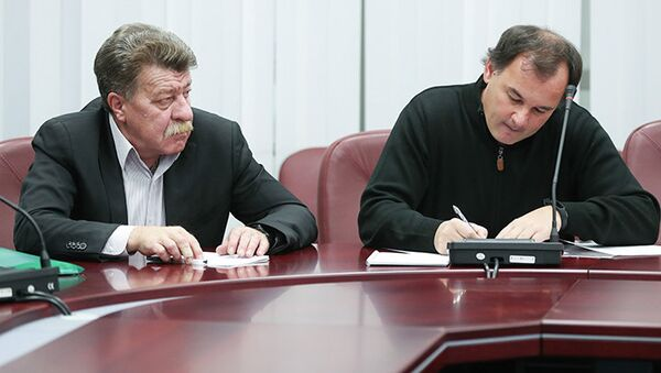 Александр Гришин (справа) и Леонид Аблизин