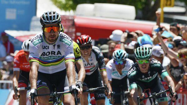 Словацкий велогонщик Петер Саган из команды Bora–Hansgrohe