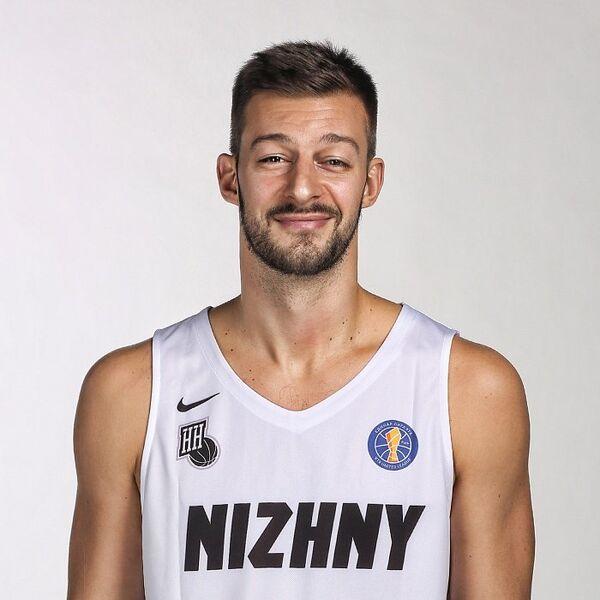 Сербский баскетболист Нижнего Новгорода Стеван Еловац