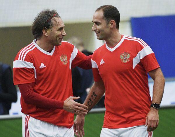 Олег Корнаухов (слева) и Роман Широков