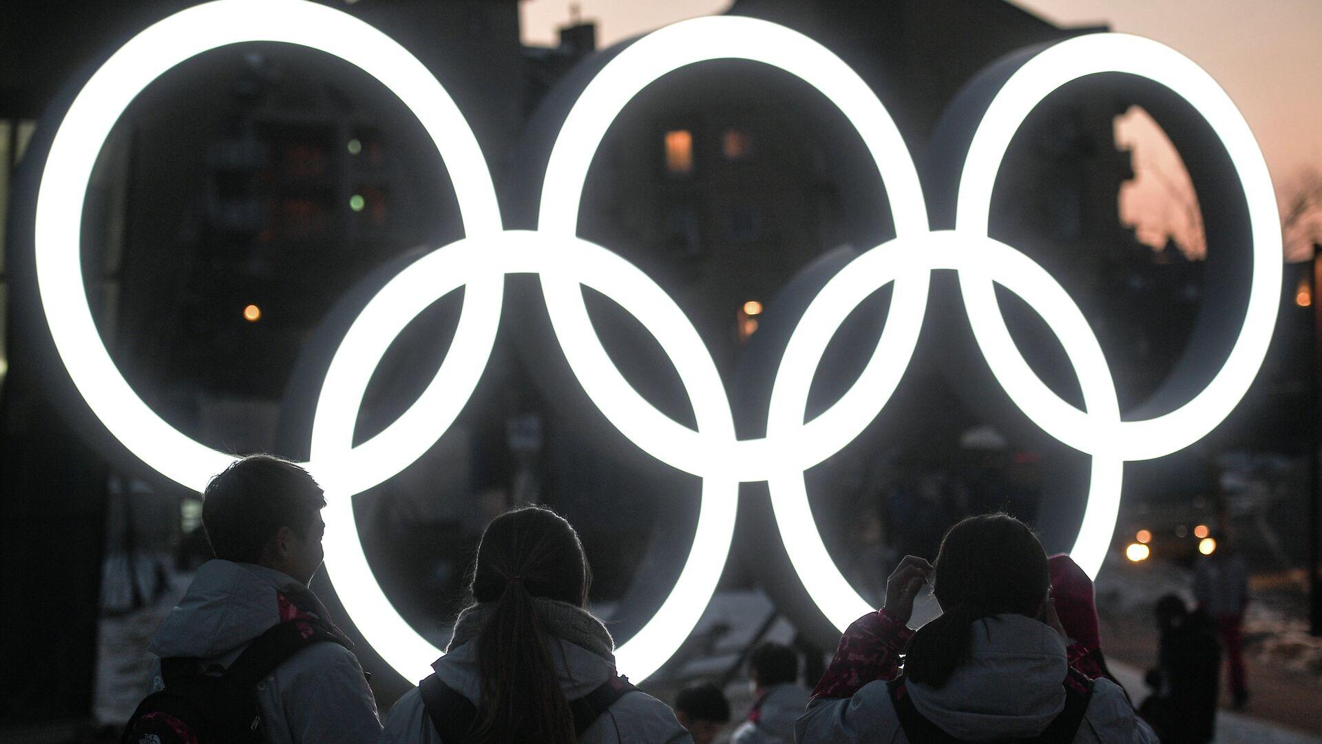 Олимпийские кольца - РИА Новости, 1920, 02.03.2021