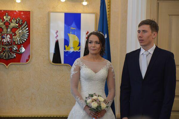 Скелетонистка Ольга Потылицына и фристайлист Семен Денщиков (слева направо)