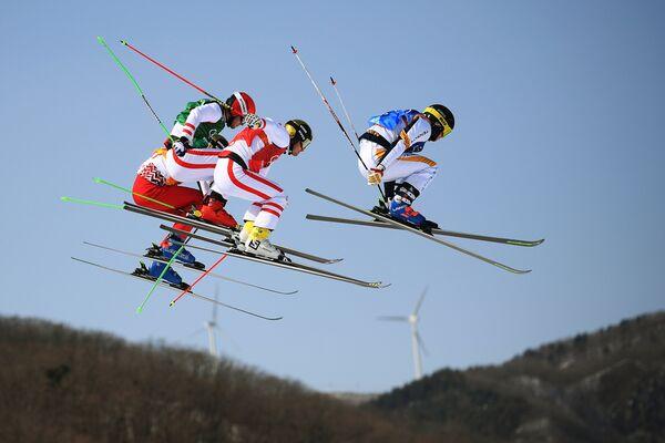 Олимпиада 2018. Фристайл. Ски-кросс