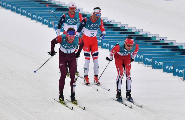 Андрей Ларьков, Мартин Йонсруд Сундбю, Ханс Кристер Холунн и Алекс Харви (слева направо)
