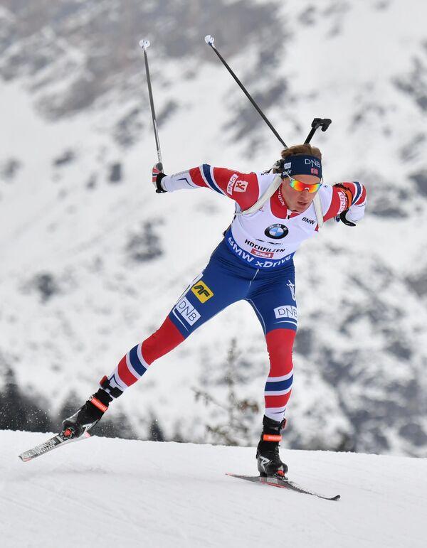Норвежский биатлонист Хенрик Л'Абе-Лунн