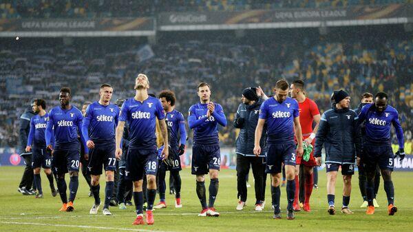 Футболисты римского Лацио