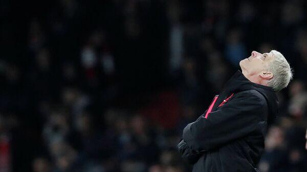 Главный тренер лондонского Арсенала Арсен Венгер