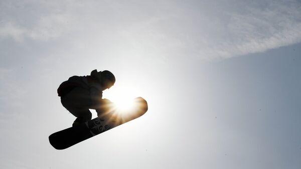 Американский сноубордист Крис Корнинг