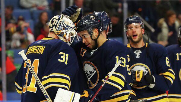 Хоккеисты клуба НХЛ Баффало Сейбрз