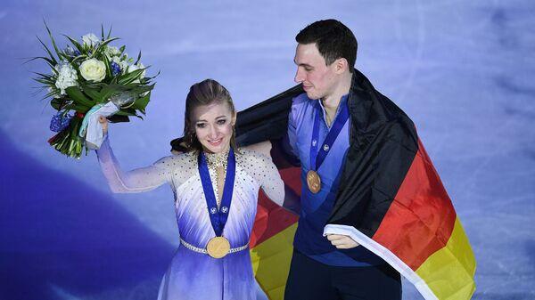Алёна Савченко и Бруно Массо