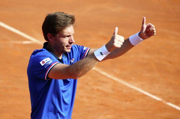 Французский теннисист Николя Маю