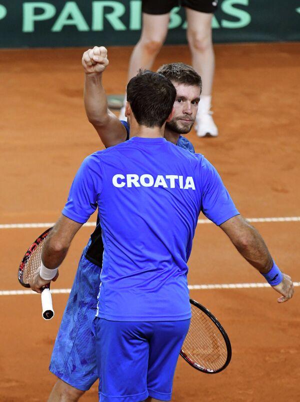 Никола Мектич (слева) и Иван Додиг