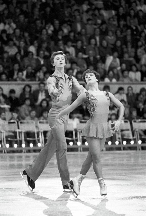 Елена Валова и Олег Васильев (архив, 1985 год)