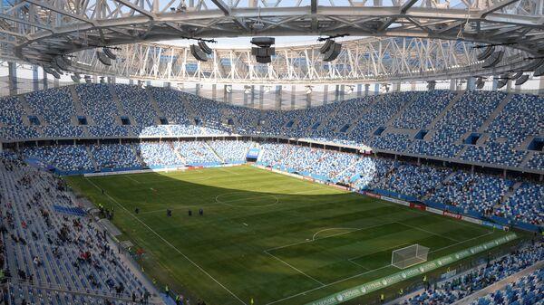Футбол. Первый официальный матч на Стадионе Нижний Новгород