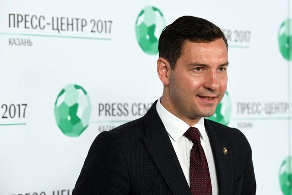 Министр по делам молодежи и спорту Республики Татарстан Владимир Леонов