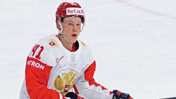 Форвард сборной России Никита Сошников