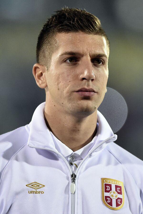 Защитник сборной Сербии по футболу Матия Настасич