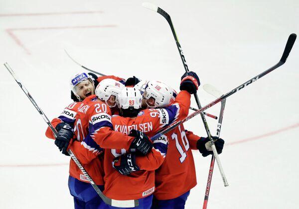 Хоккеисты сборной Норвегии