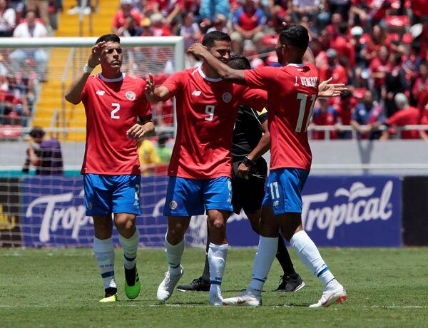Футболисты сборной Коста-Рики