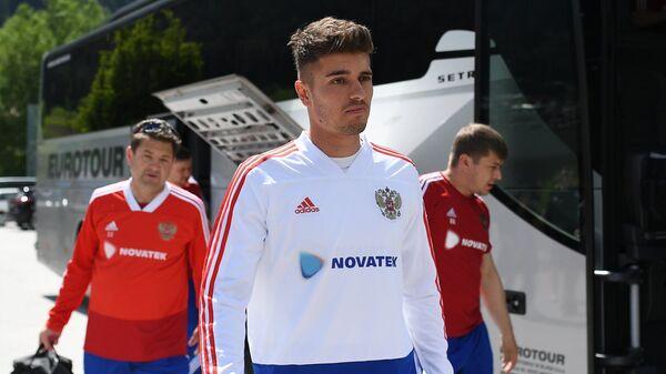 Защитник сборной России по футболу Роман Нойштедтер