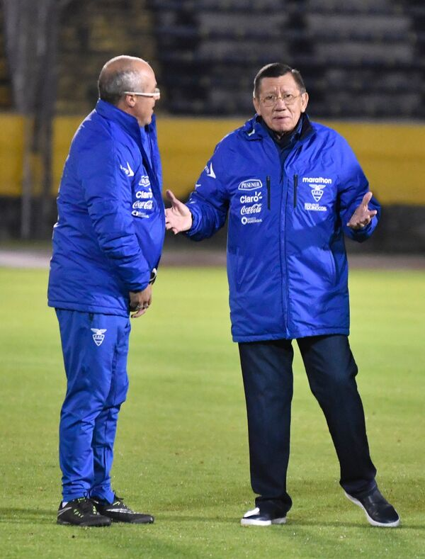 Глава Эквадорской федерации футбола Карлос Вильясис