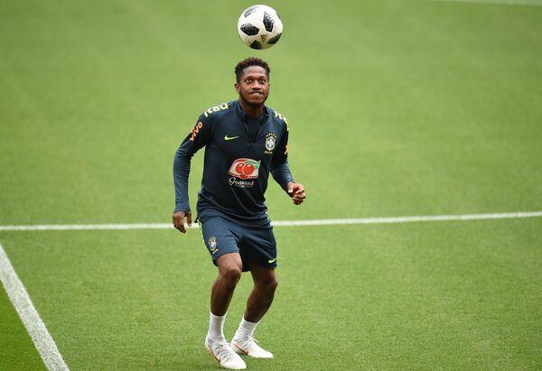 Ползущаитник сборной Бразилии Фред