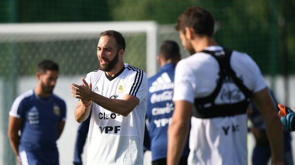 Нападающий сборной Аргентины Гонсало Игуаин