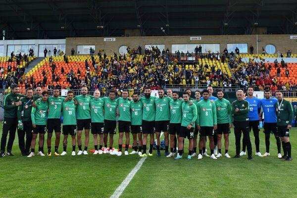 Футболисты сборной Австралии после тренировки в Казани
