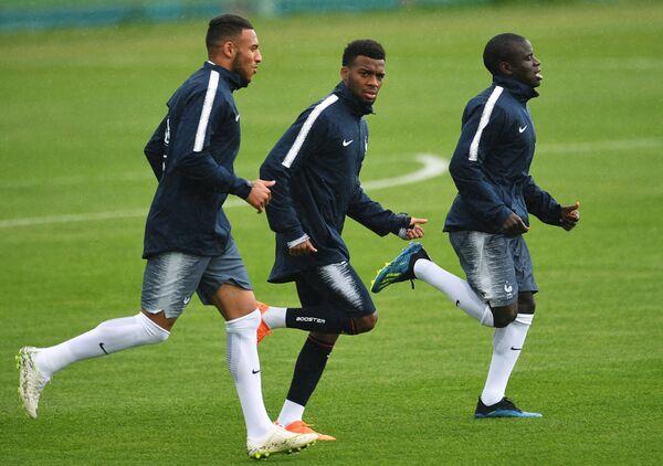 Игрок сборной Франции