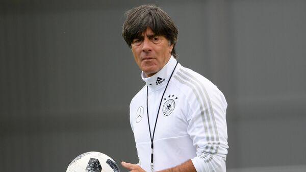 Главный тренер сборной Германии Йоахим Лёв