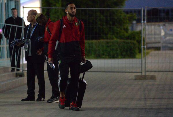 Игрок сборной Марокко Мехди Бенатия