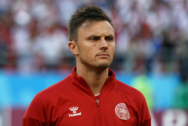 Защитник сборной Дании Вильям Квист