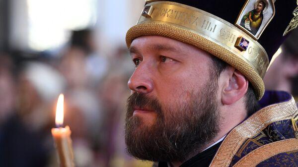 Митрополит Волоколамский, викарий патриарха Московского и всея Руси Илларион