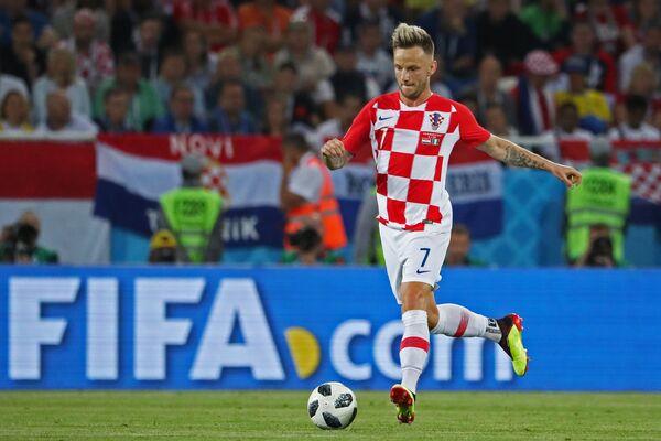 Футболист сборной Хорватии Иван Ракитич