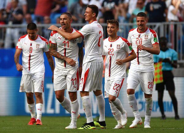 Игроки сборной Сербии