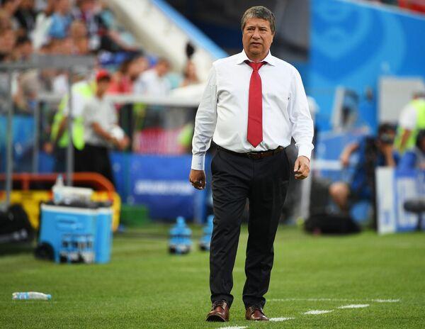 Главный тренер сборной Панамы Эрнан Дарио Гомес