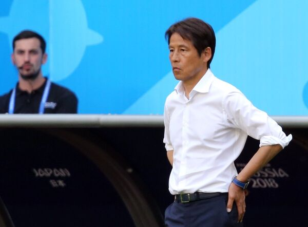 Главный тренер сборной Японии Акира Нисино