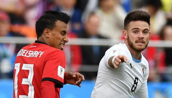 Футбол. ЧМ-2018. Матч Египет - Уругвай