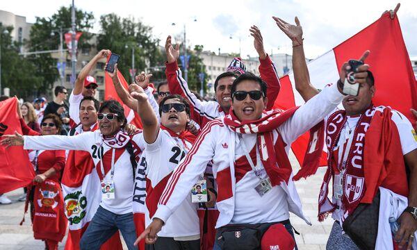 Болельщики сборной Перу