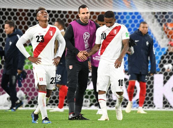 Футбол. ЧМ-2018. Матч Франция - Перу