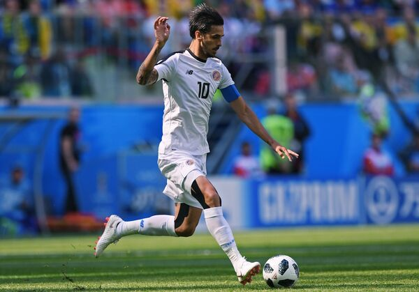 Капитан сборной Коста-Рики Брайан Руис
