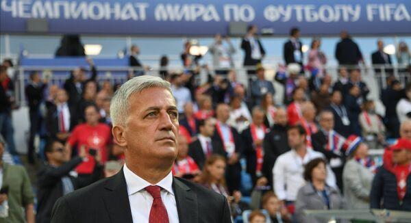 Главный тренер сборной Швейцарии Владимир Петкович