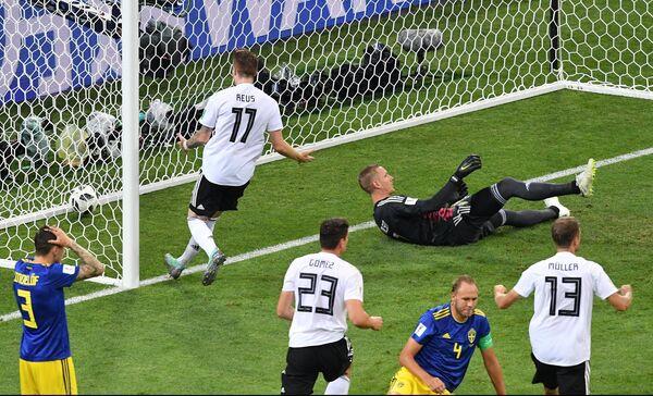 Нападающий сборной Германии Марко Ройс