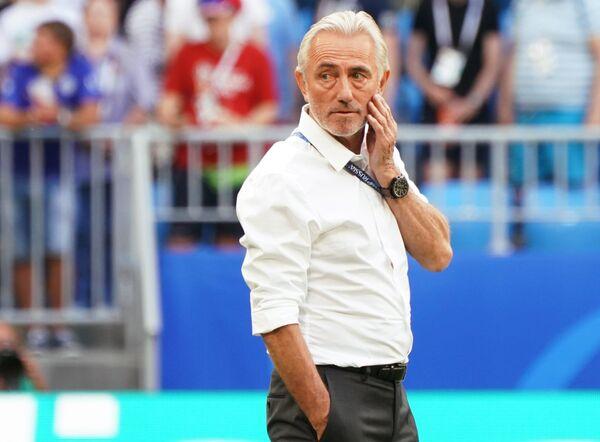 Главный тренер сборной Австралии Берт ван Марвейк