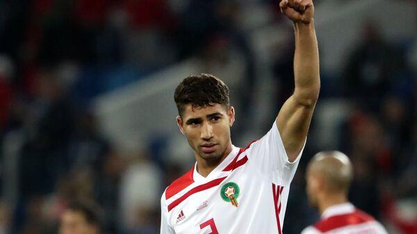 Защитник сборной Марокко Ашраф Хакими