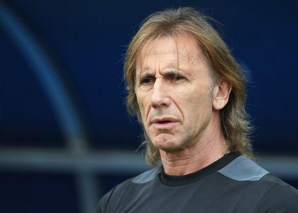 Главный тренер Перу Рикардо Гарека