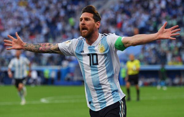 Форвард сборной Аргентины Лионель Месси
