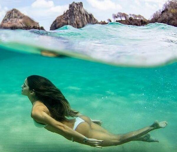 Бразильская модель Изабель Гулар.