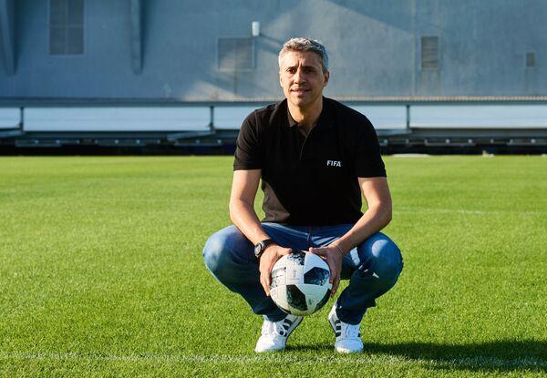 Аргентинский футболист Эрнан Креспо