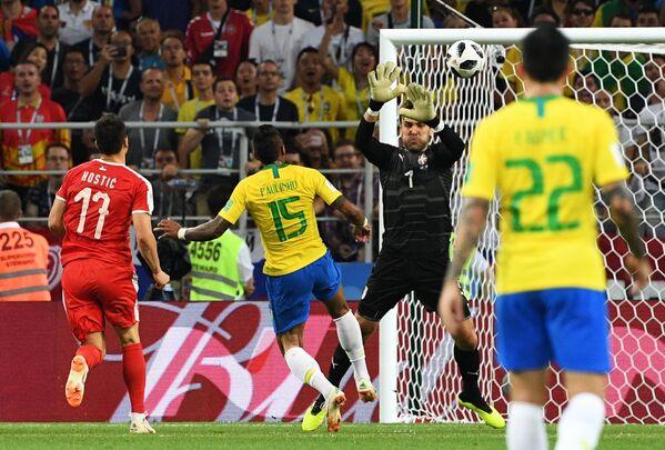 Футбол. ЧМ-2018. Матч Сербия - Бразилия